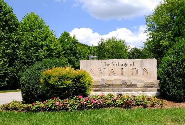Village of Avalon Subdivision Homes For Sale Franklin TN