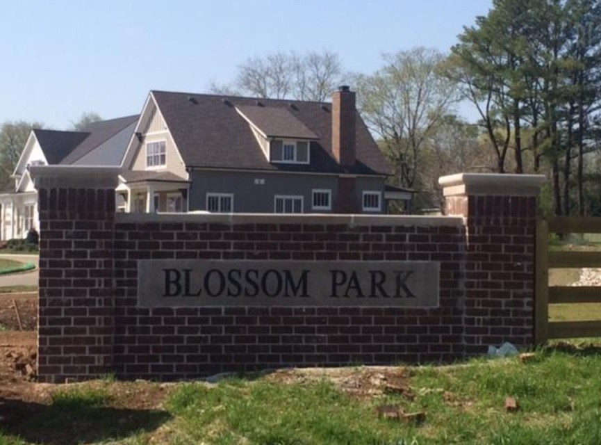 Blossom Park Subdivision Homes For Sale Franklin TN