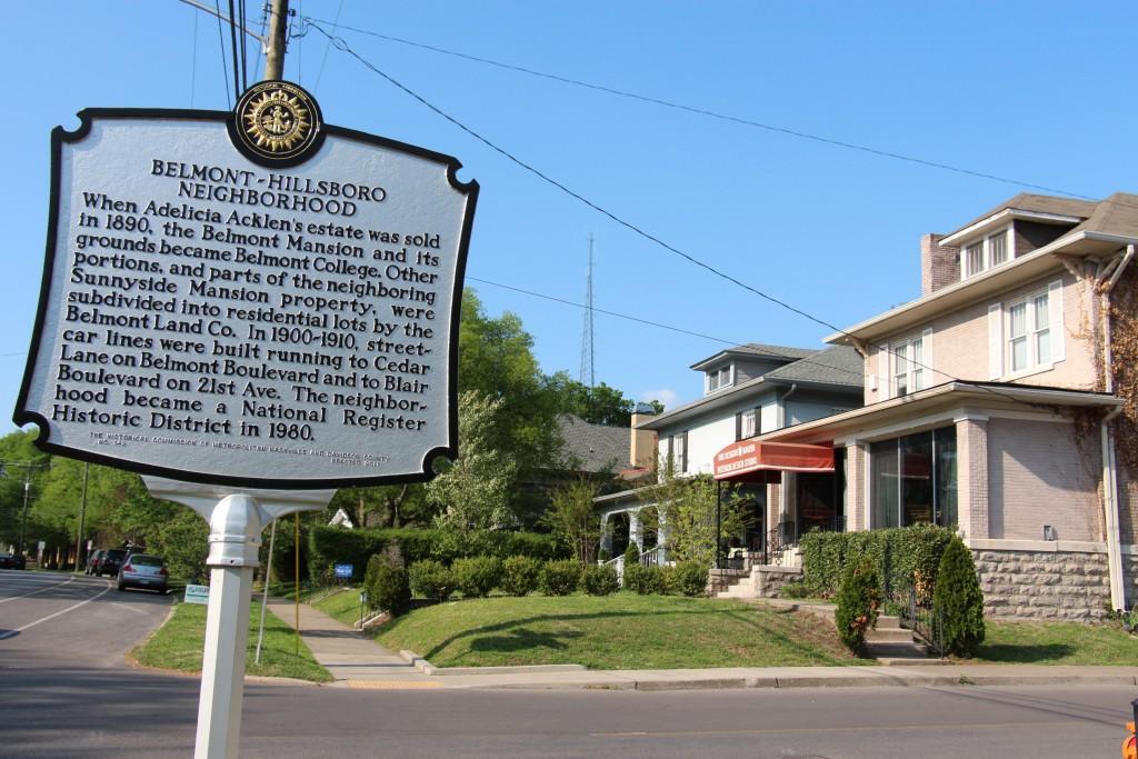 Belmont Hillsboro Village Neighborhood