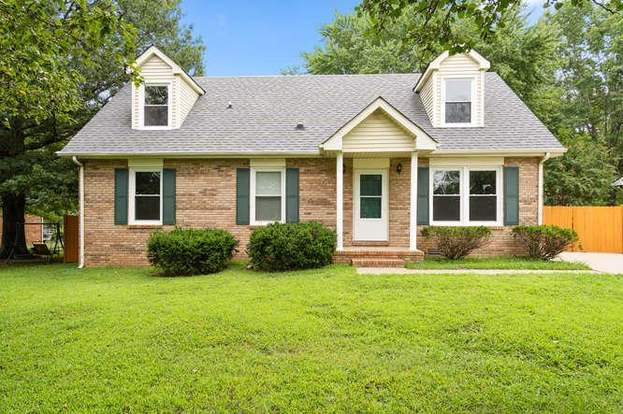 Homes for Sale in Woodridge Estates Subdivision Clarksville TN