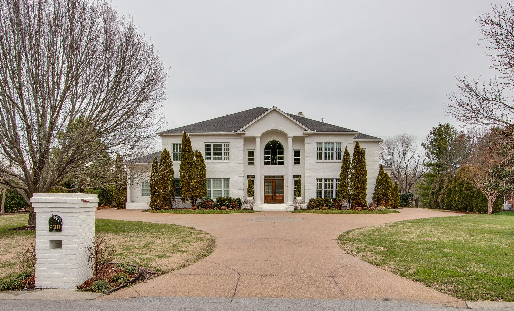 Lenox Park Subdivision Brentwood TN